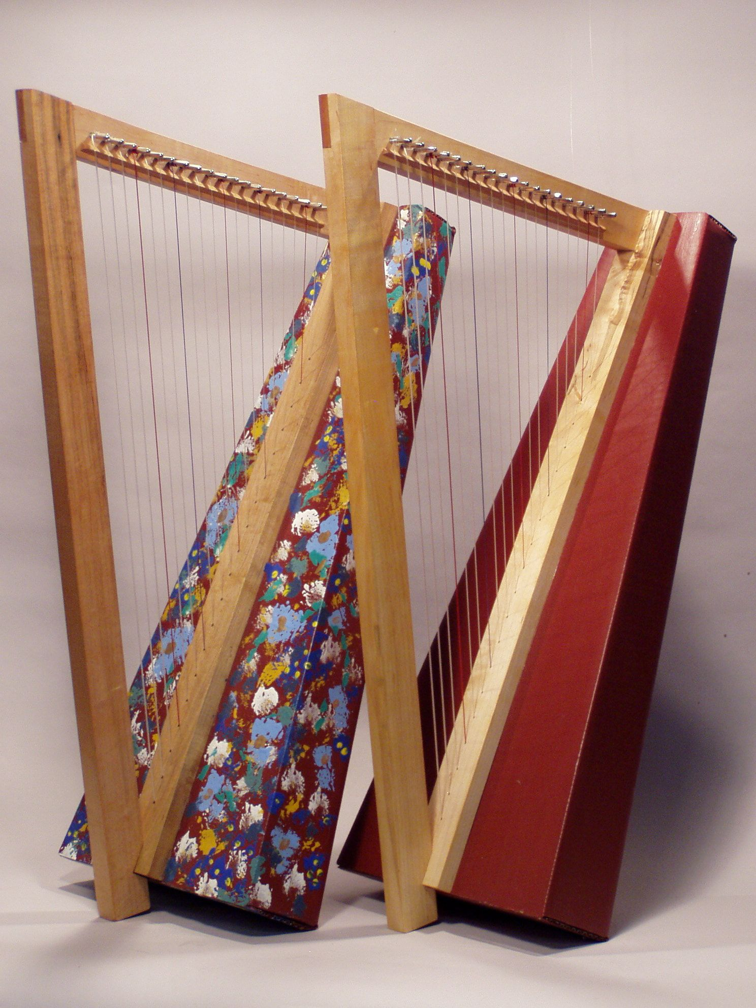 Waring Fully Built Harps
