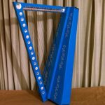 The bedazzled harp