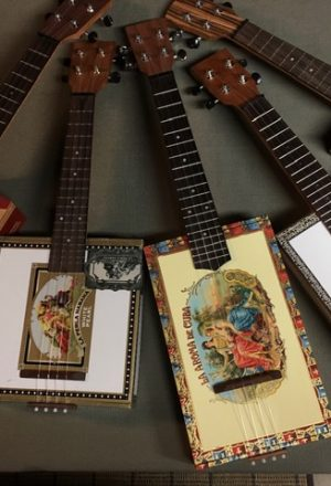 Cigar Box Ukuleles