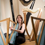 Mary Borgia Plays Waring Harp